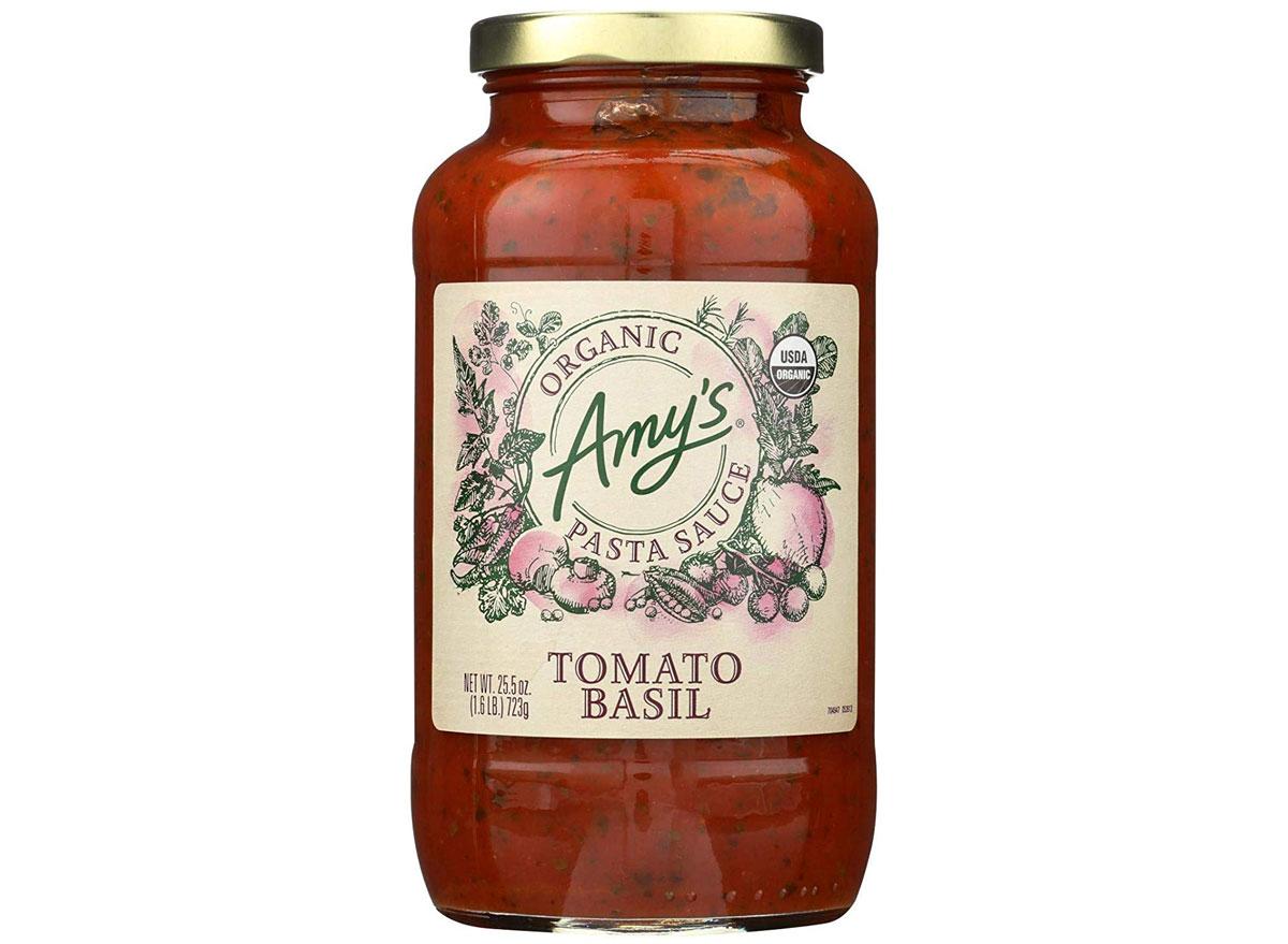 amy's tomato basil sauce