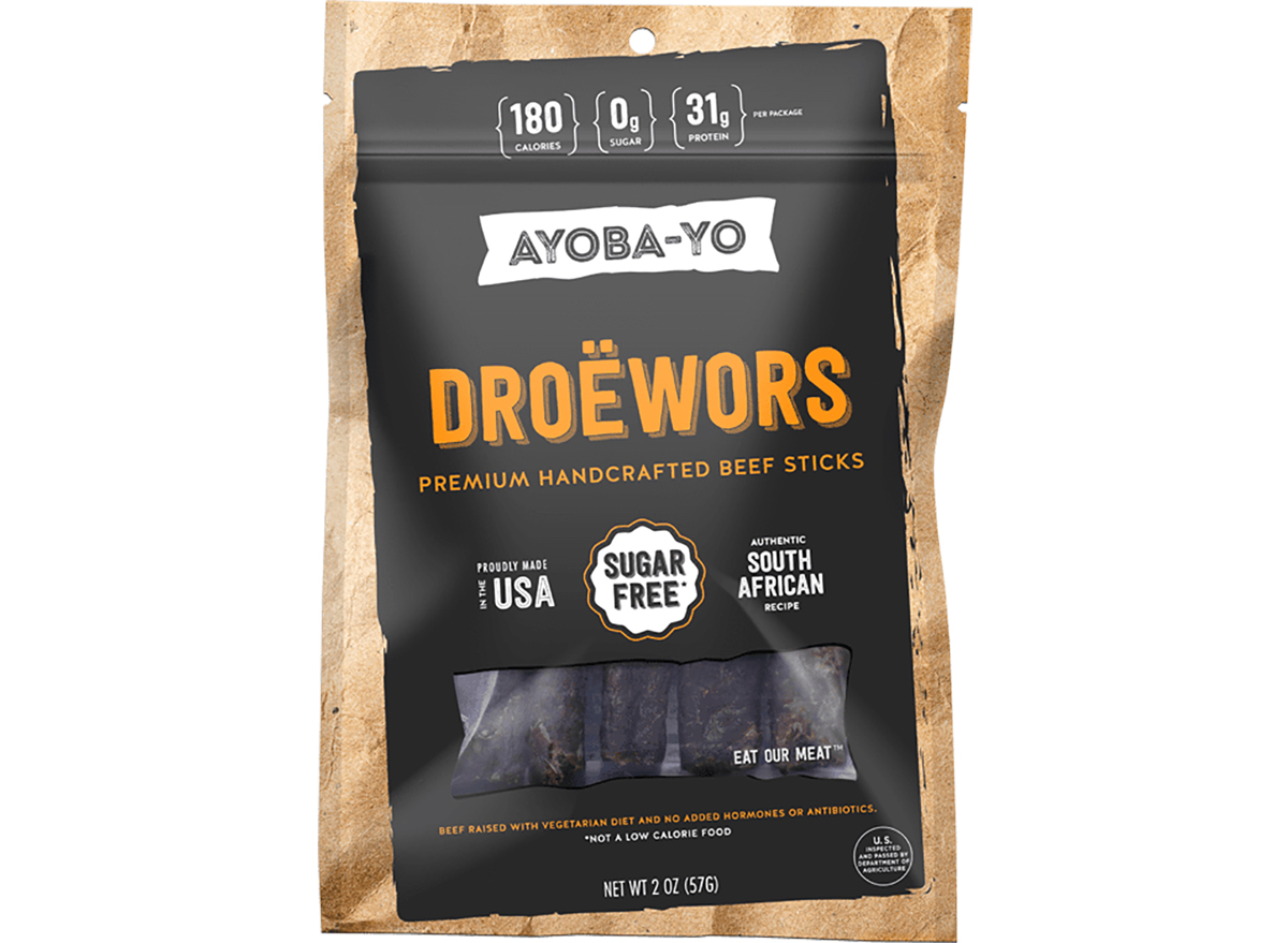 ayoba yo biltong droewors beef sticks