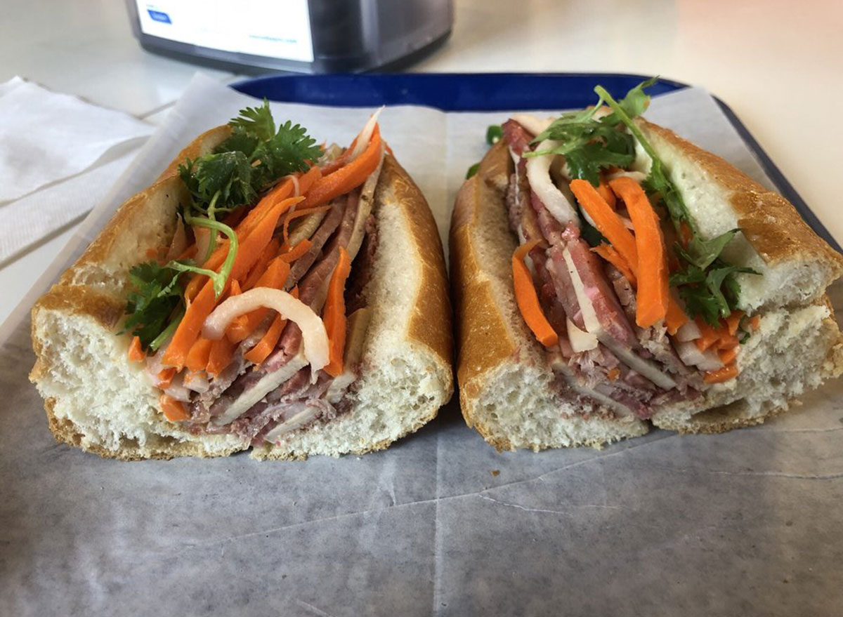 banhwich cafe cold cuts sandwich