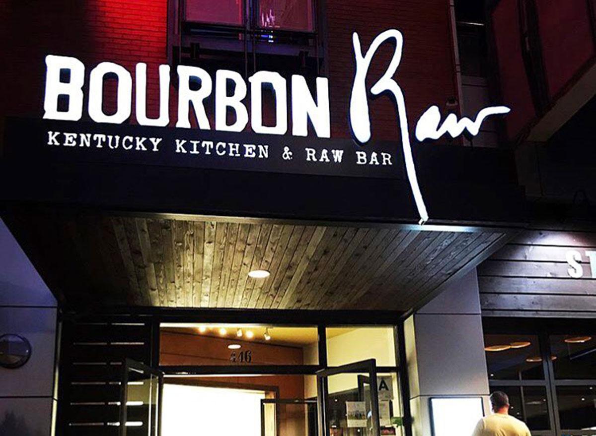 bourbon raw restaurant in louisville kentucky