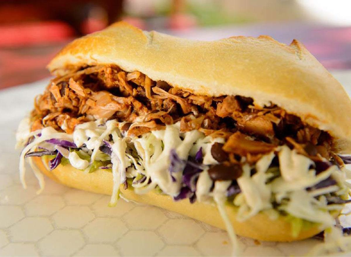 buds barbacoa sandwich
