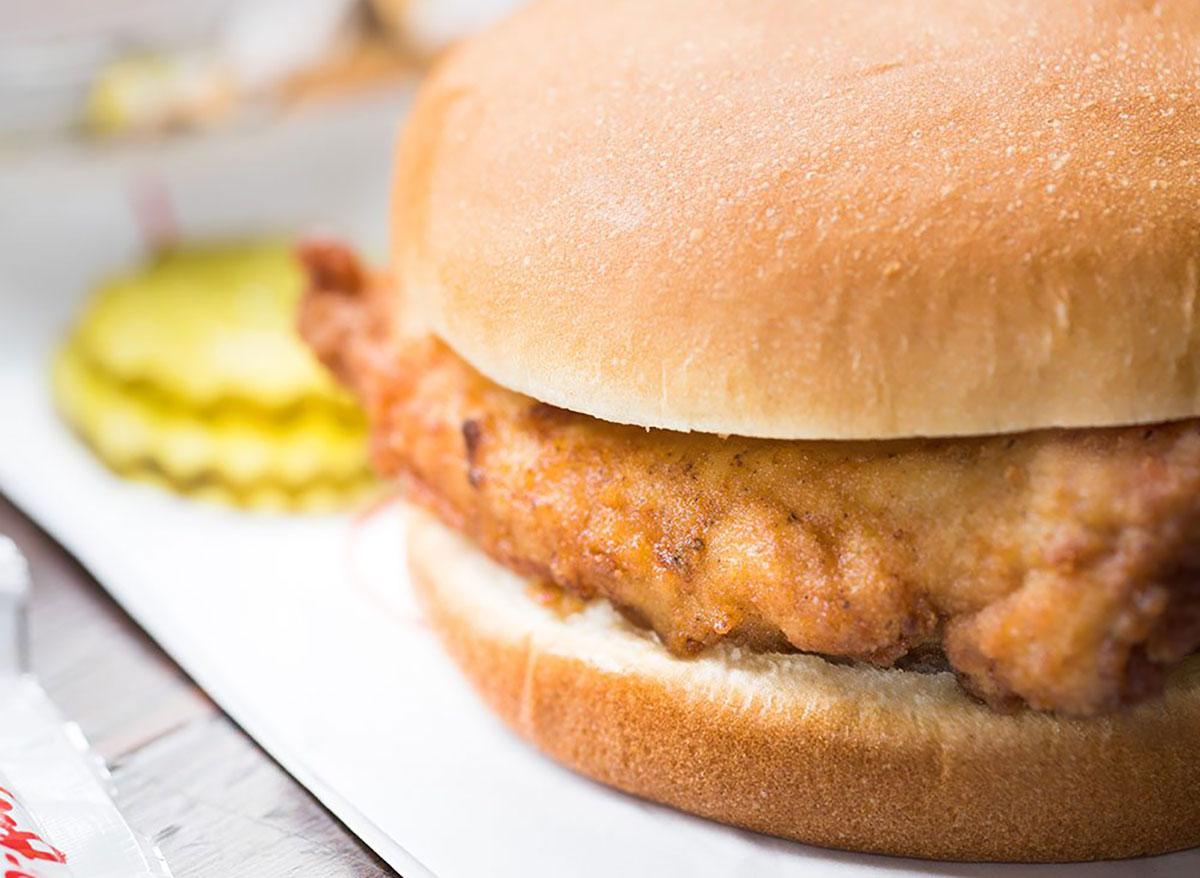 chick fil a chicken sandwich