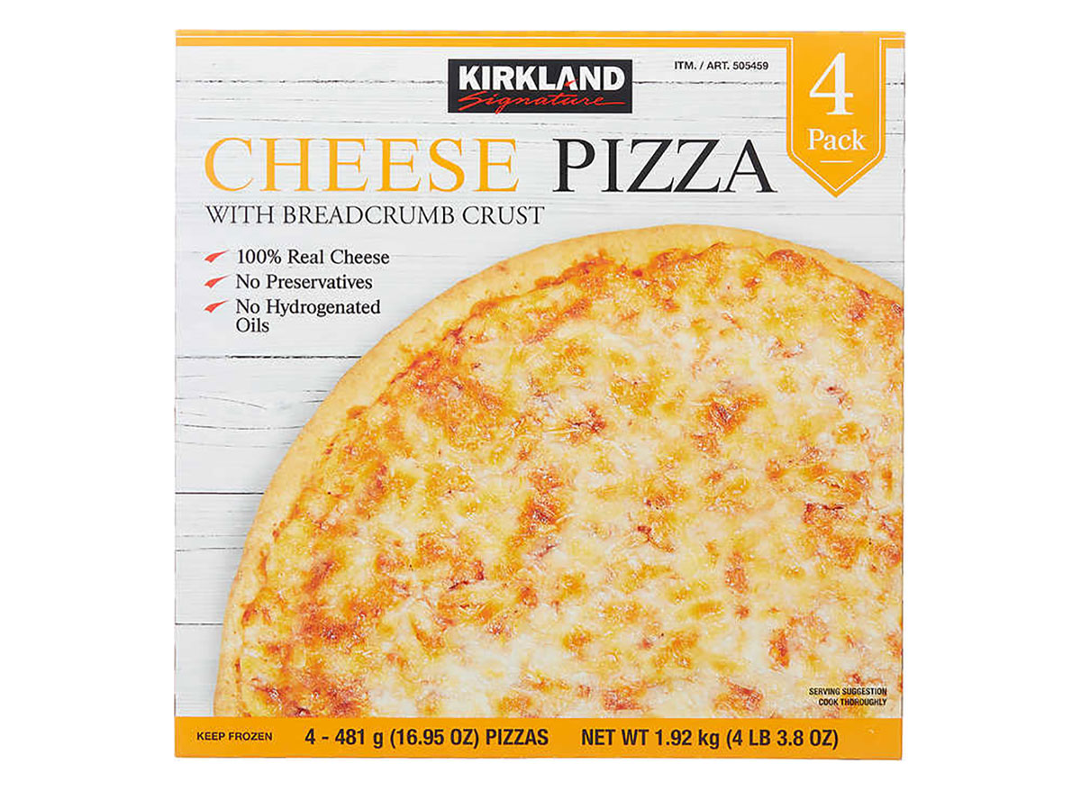 frozen cheese pizza from costco