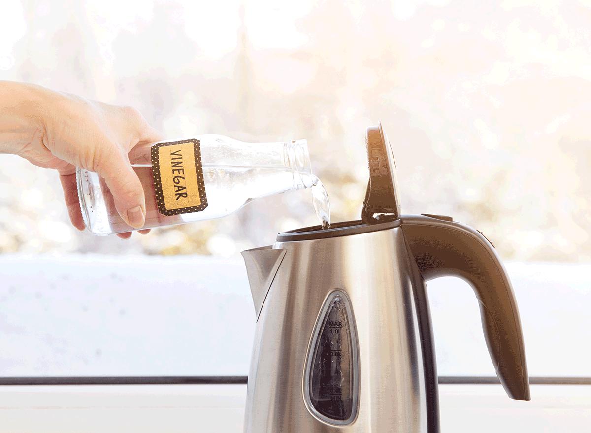 descale coffee filter