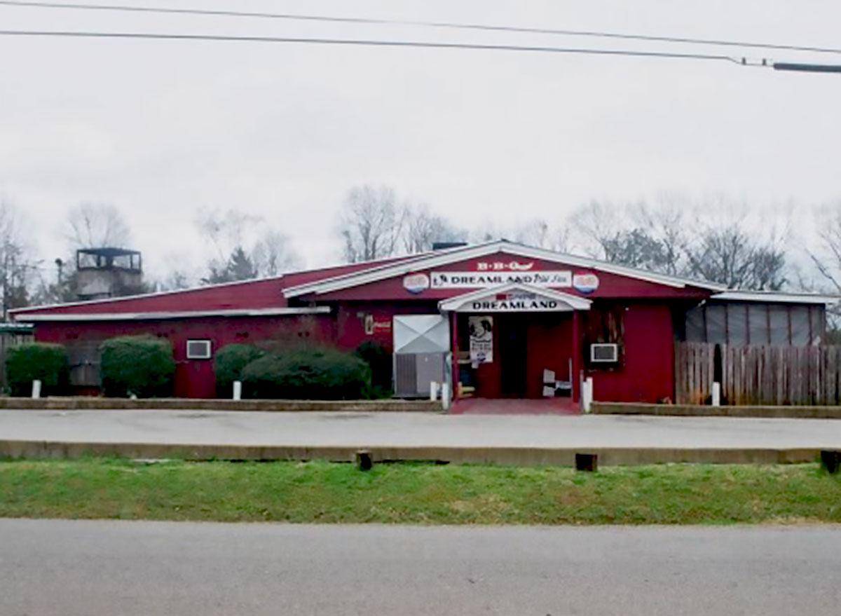 dreamland bar b que restaurant in tuscaloosa alabama