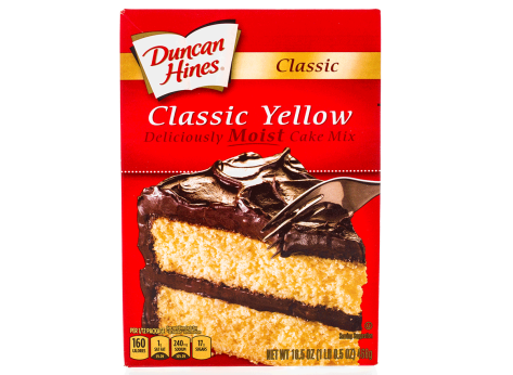 duncan hines classic yellow cake mix
