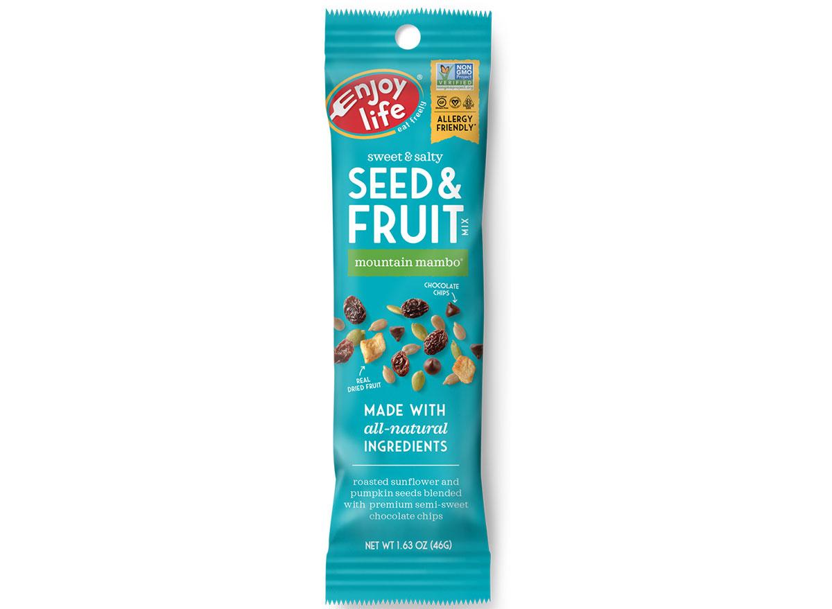 enjoy life grab n go seed and fruit mountain mambo bag