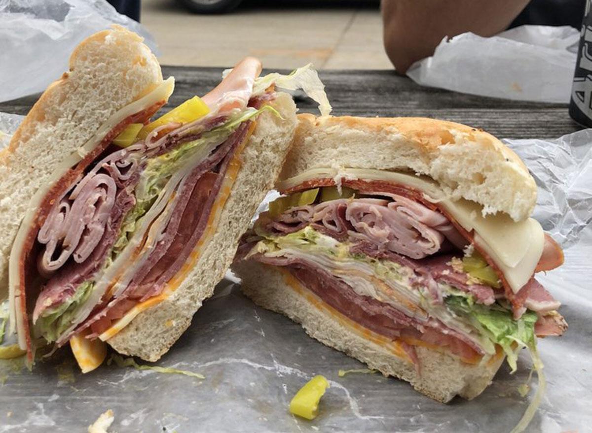 ernies market thick sandwich