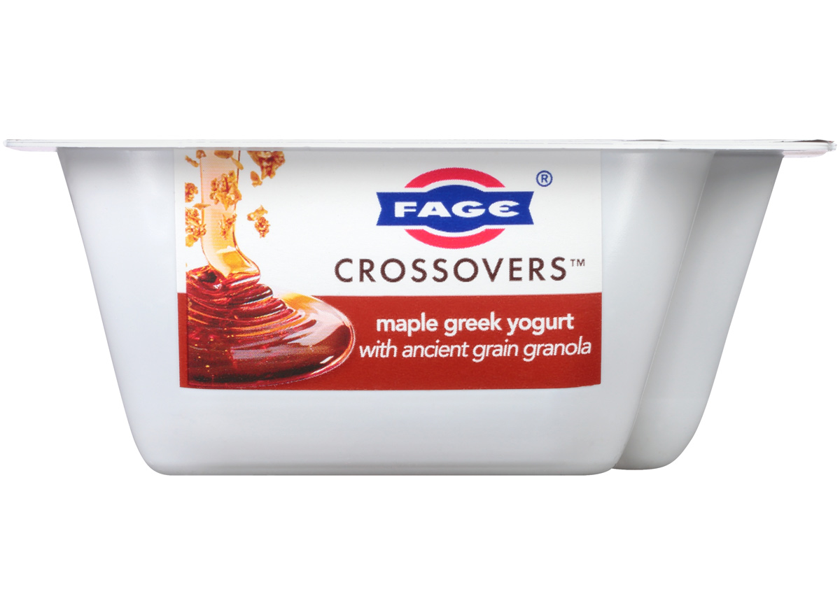 fage crossovers maple granola greek yogurt