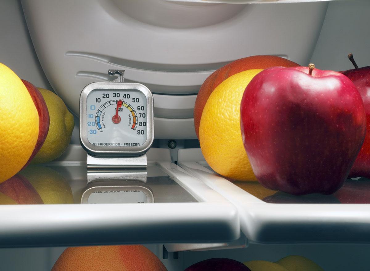 fridge tempurature