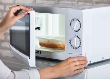 frozen dinner in microwave