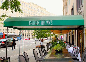 georgia browns restaurant in alexandria virginia