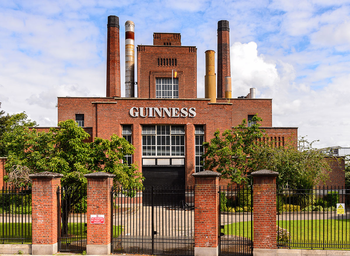 guinness brewery building