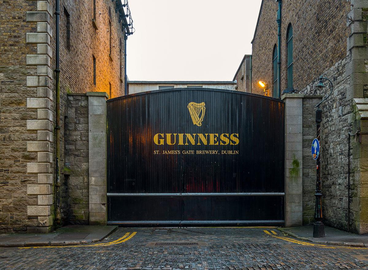 guinness saint james gate brewery in dublin