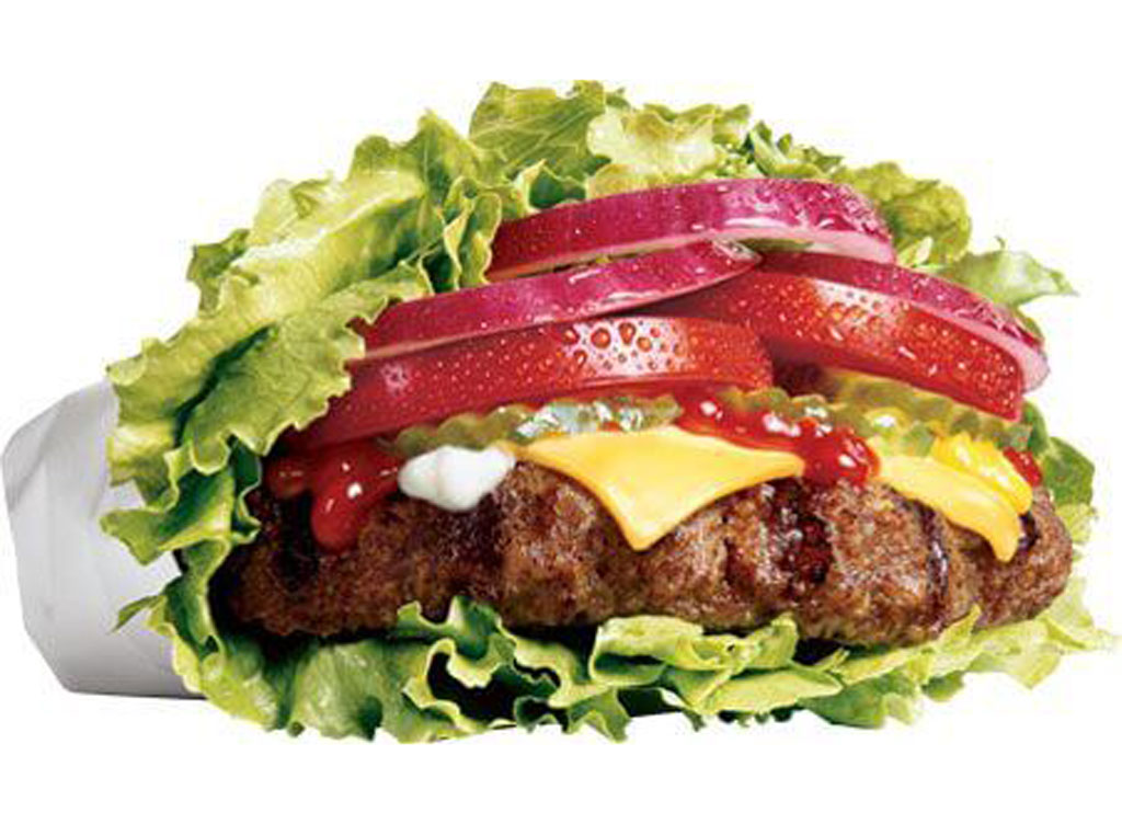 Hardees low carb thickburger