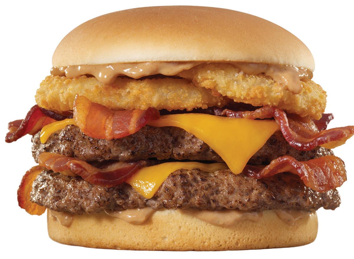 johnny rockets smoke house double burger
