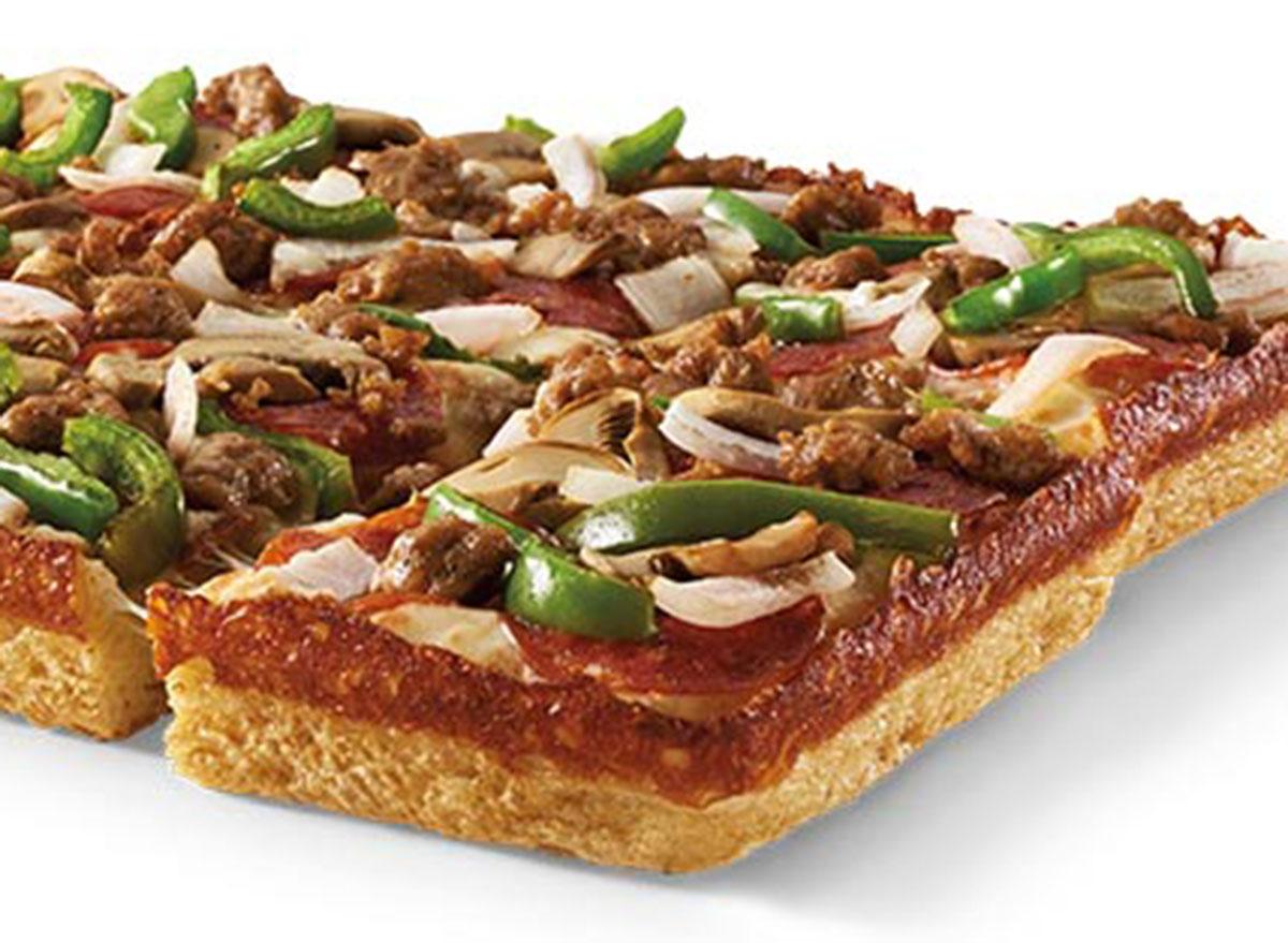 little caesars deep deep ultimate supreme pizza
