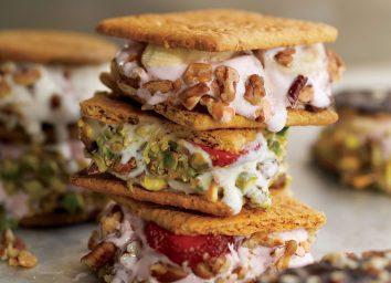 low calorie ice cream sandwiches