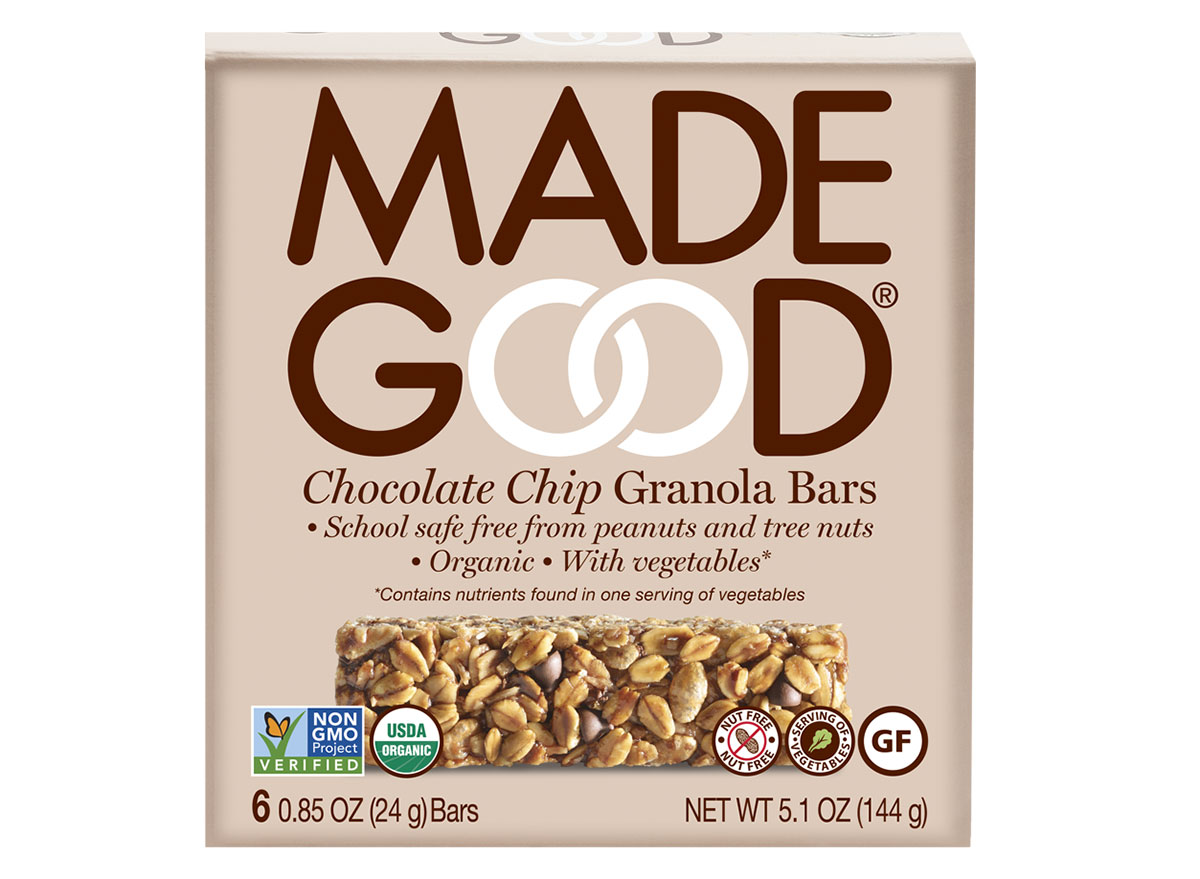 made good chocolate chip granola bars box