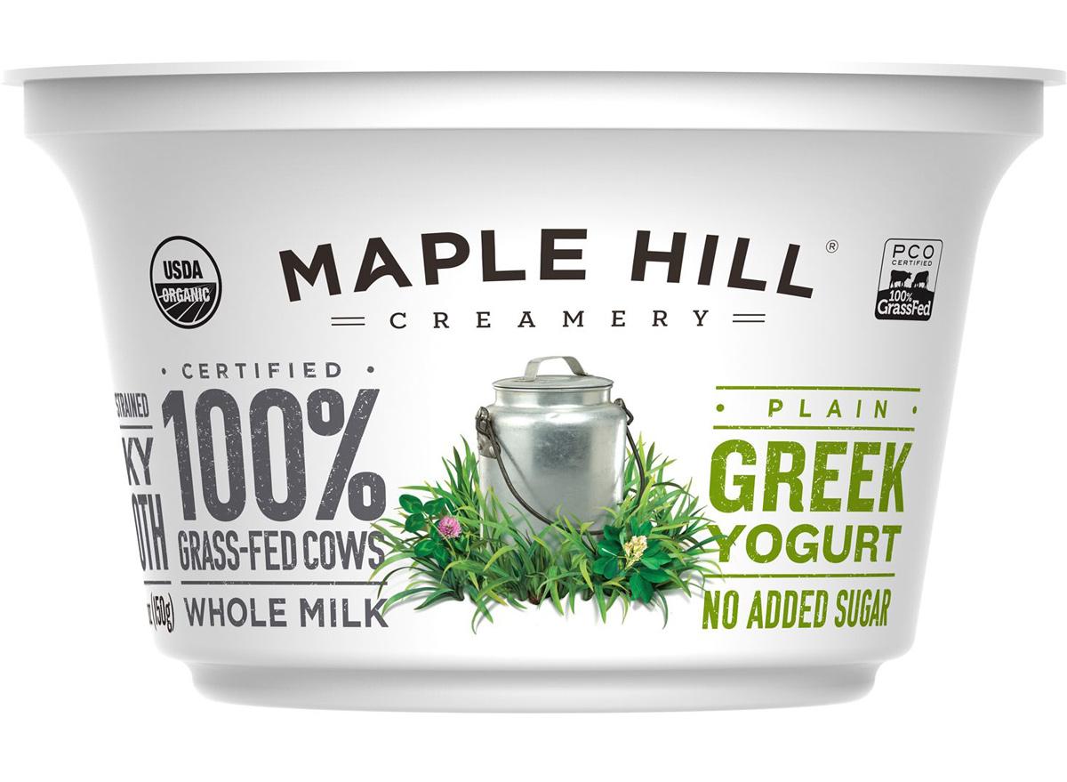 maple hill greek whole milk plain yogurt