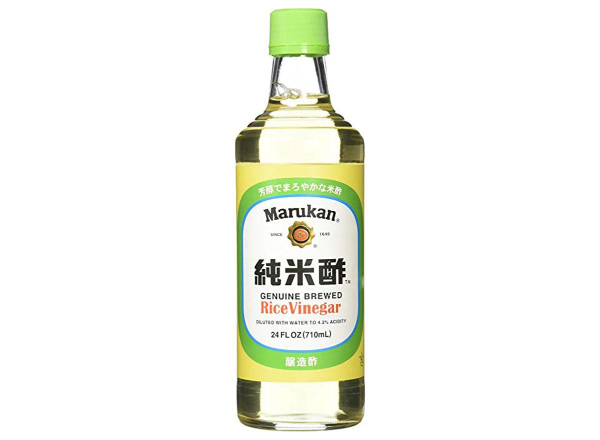 marukan genuine brewed rice vinegar 24 ounce bottle