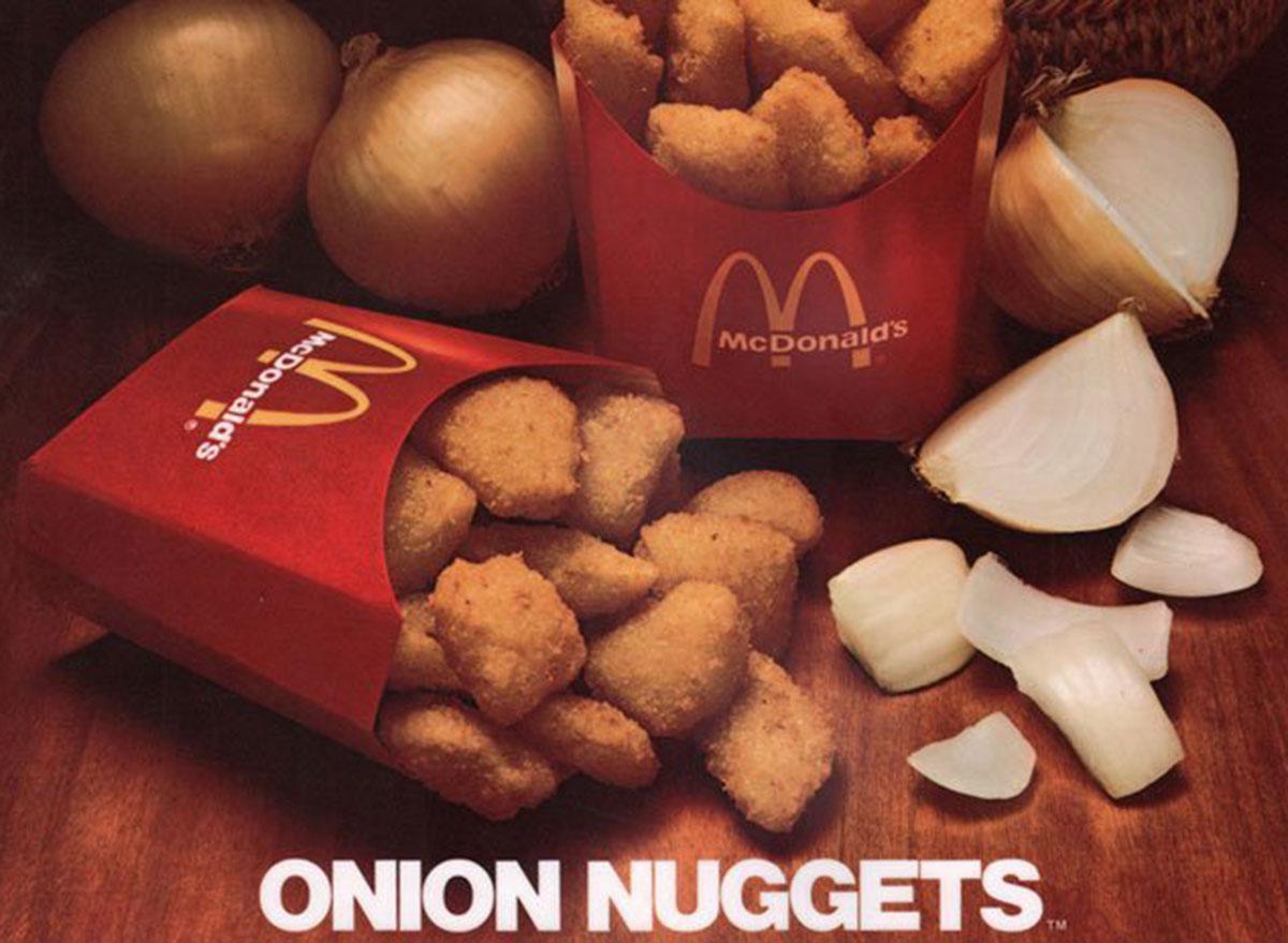 mcdonalds onion nuggets