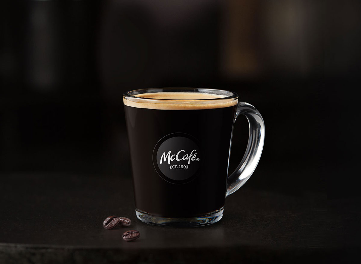 Mcdonalds mccafe americano
