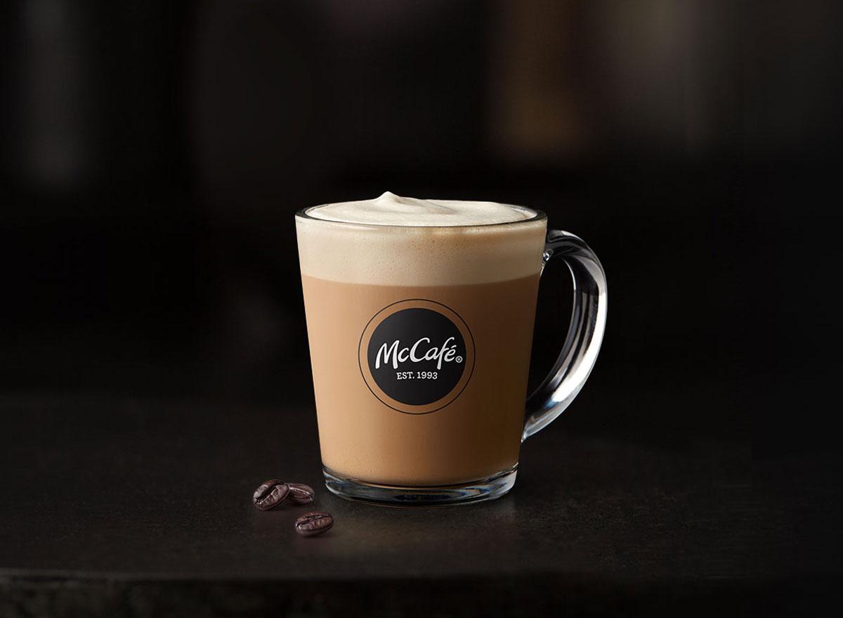 Mcdonalds mccafe cappuccino