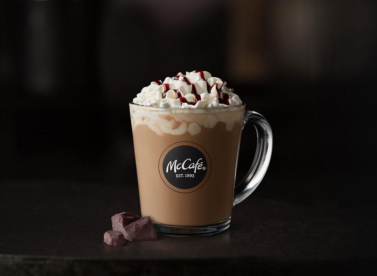 Mcdonalds mccafe hot chocolate