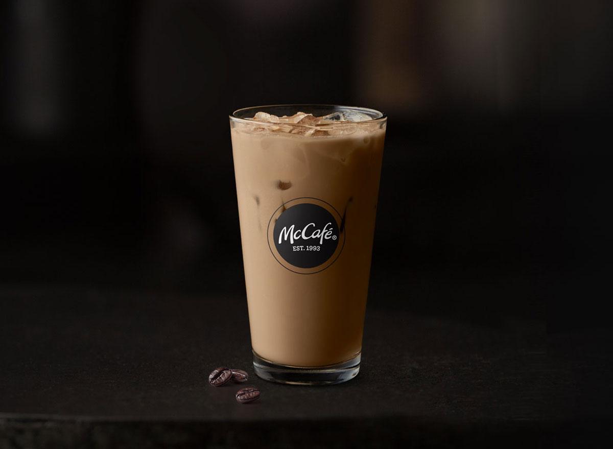 Mcdonalds mccafe iced latte