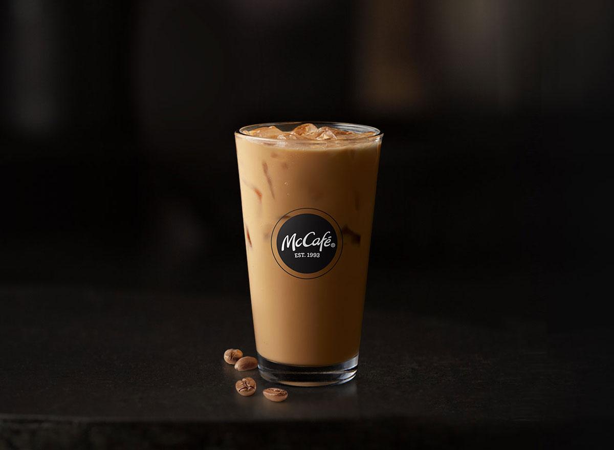 Mcdonalds mccafe premium roast iced coffee