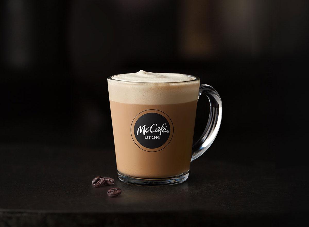 Mcdonalds mccafe vanilla cappuccino