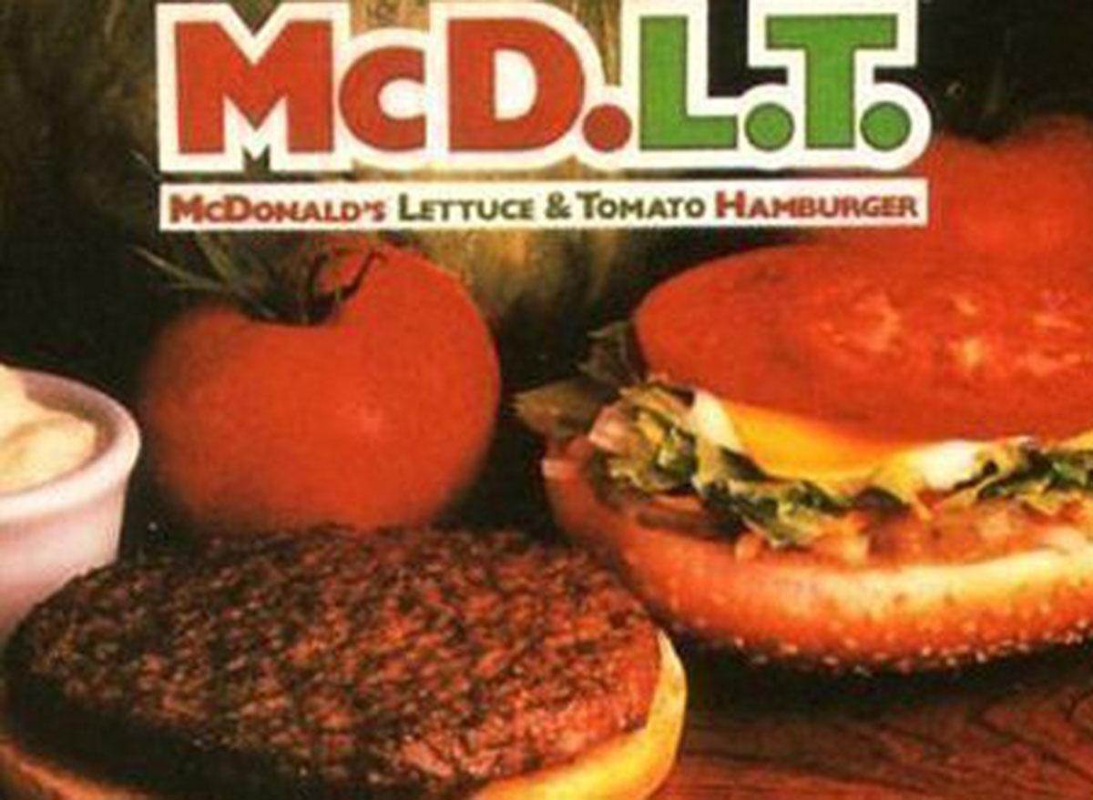 mcdonalds mcdlt