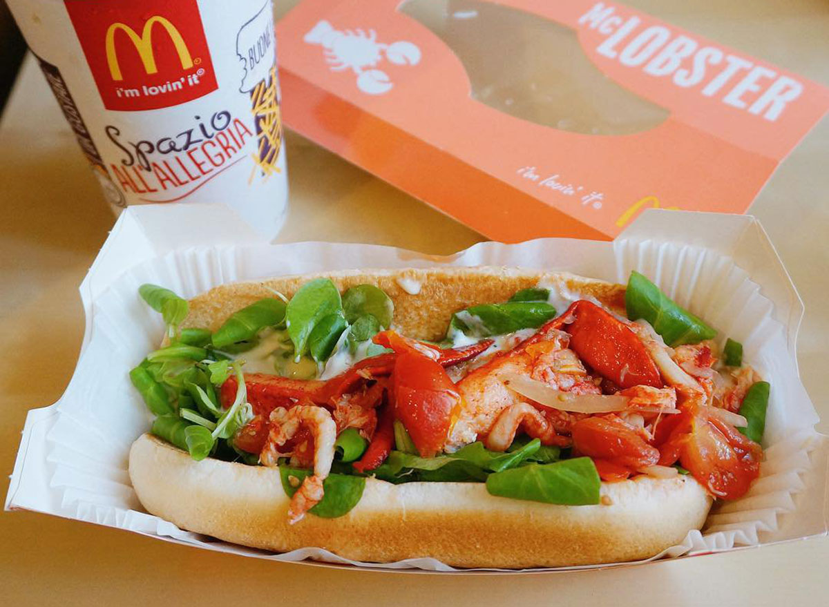 mcdonalds mclobster