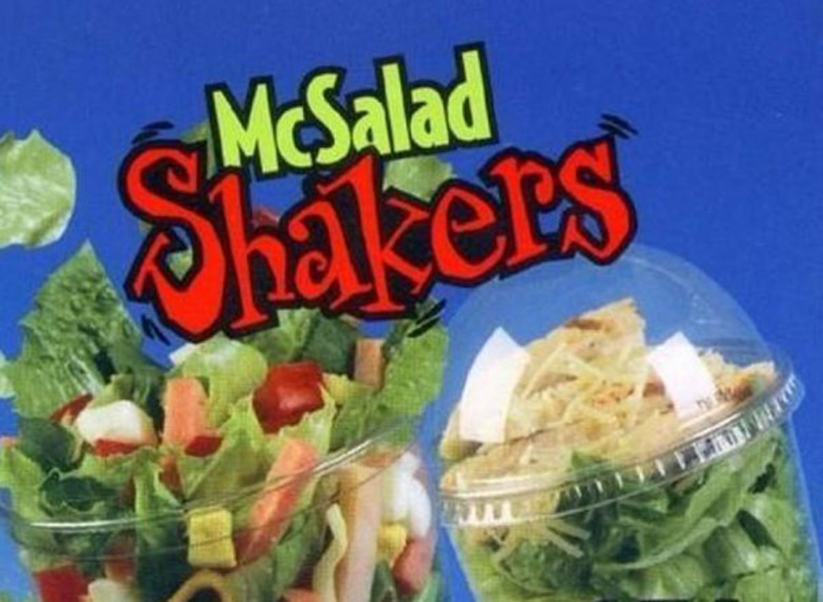 mcdonalds mcsalad shakers