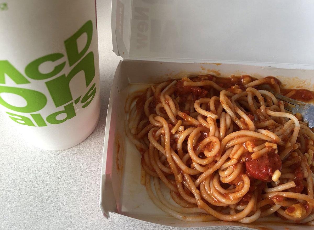 mcdonalds mcspeghetti