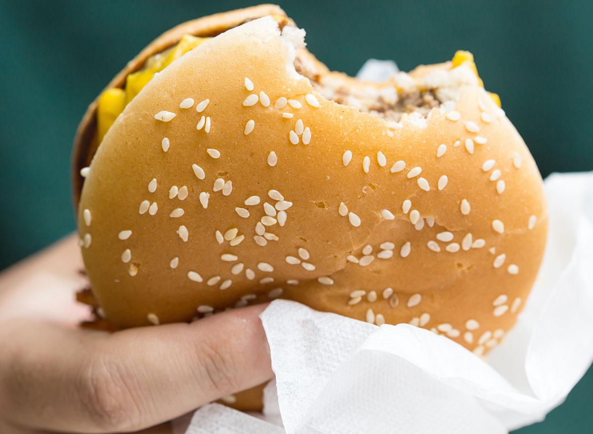 mcdonalds sesame bun sandwich