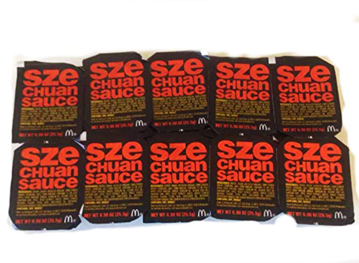 mcdonalds szechuan sauce packets