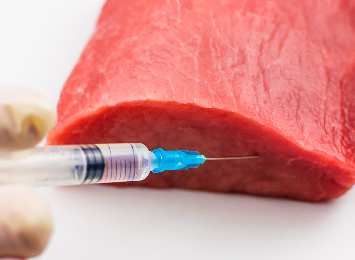 meat preserve injection