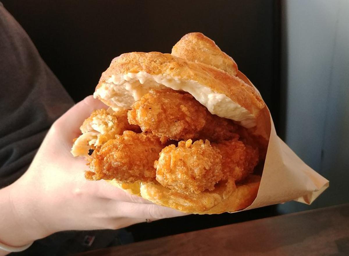 dv8 kitchen's orange marmalade chicken biscuit