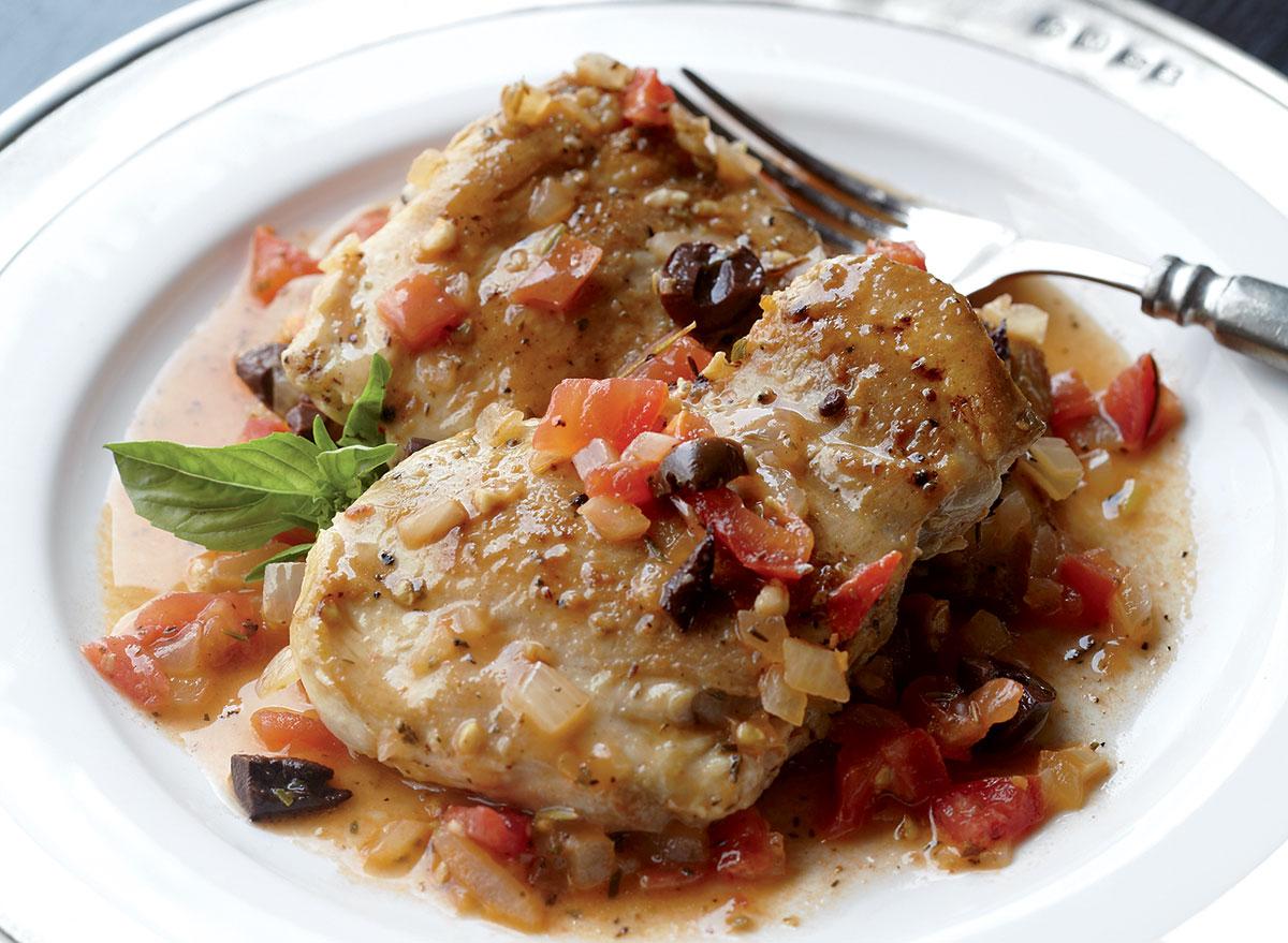 paleo provençal chicken