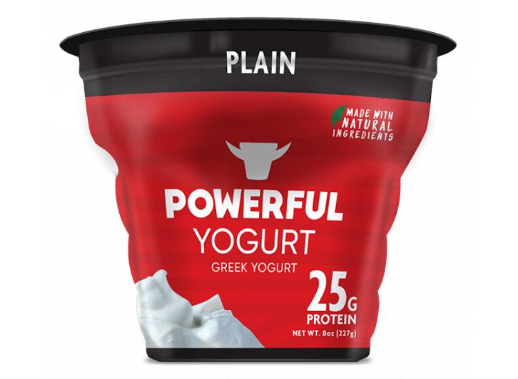powerful plain yogurt