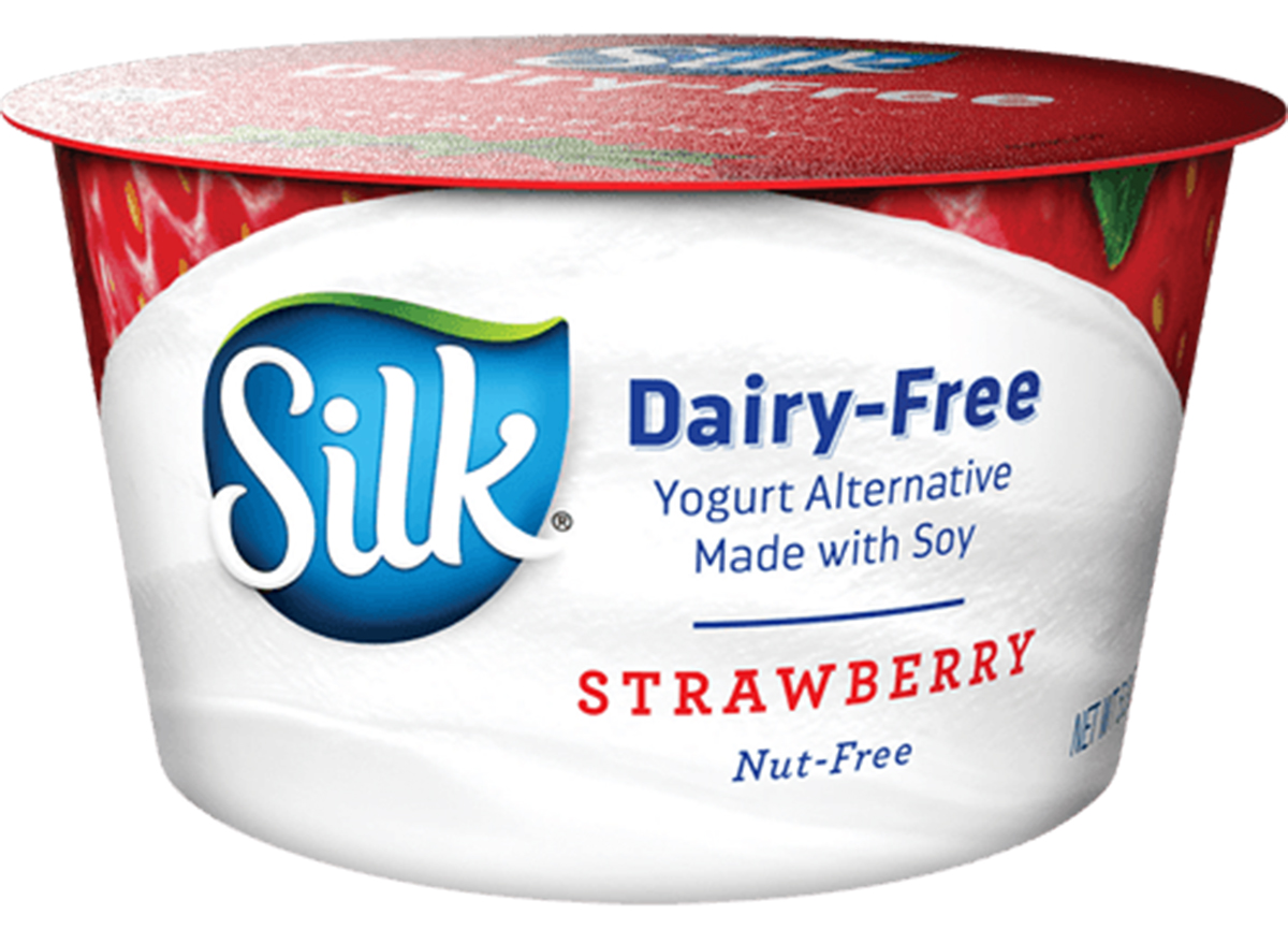 silk dairy free strawberry