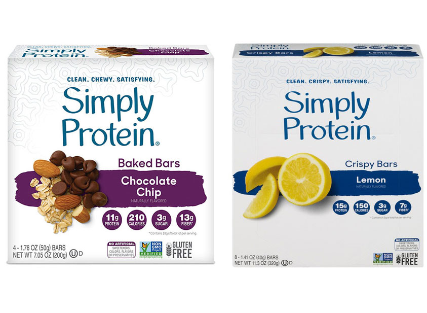 simply protein protein bars