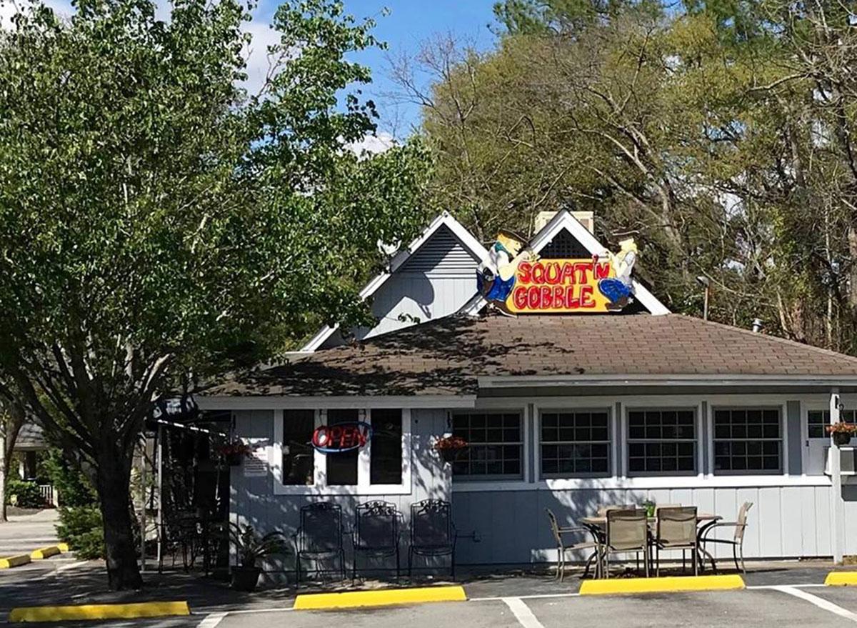 squat n gobble restaurant in bluffton south carolina