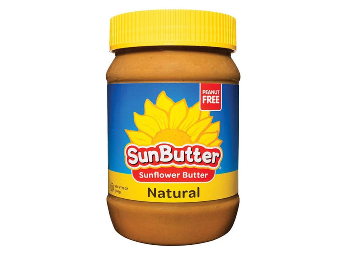 sunbutter natural jar
