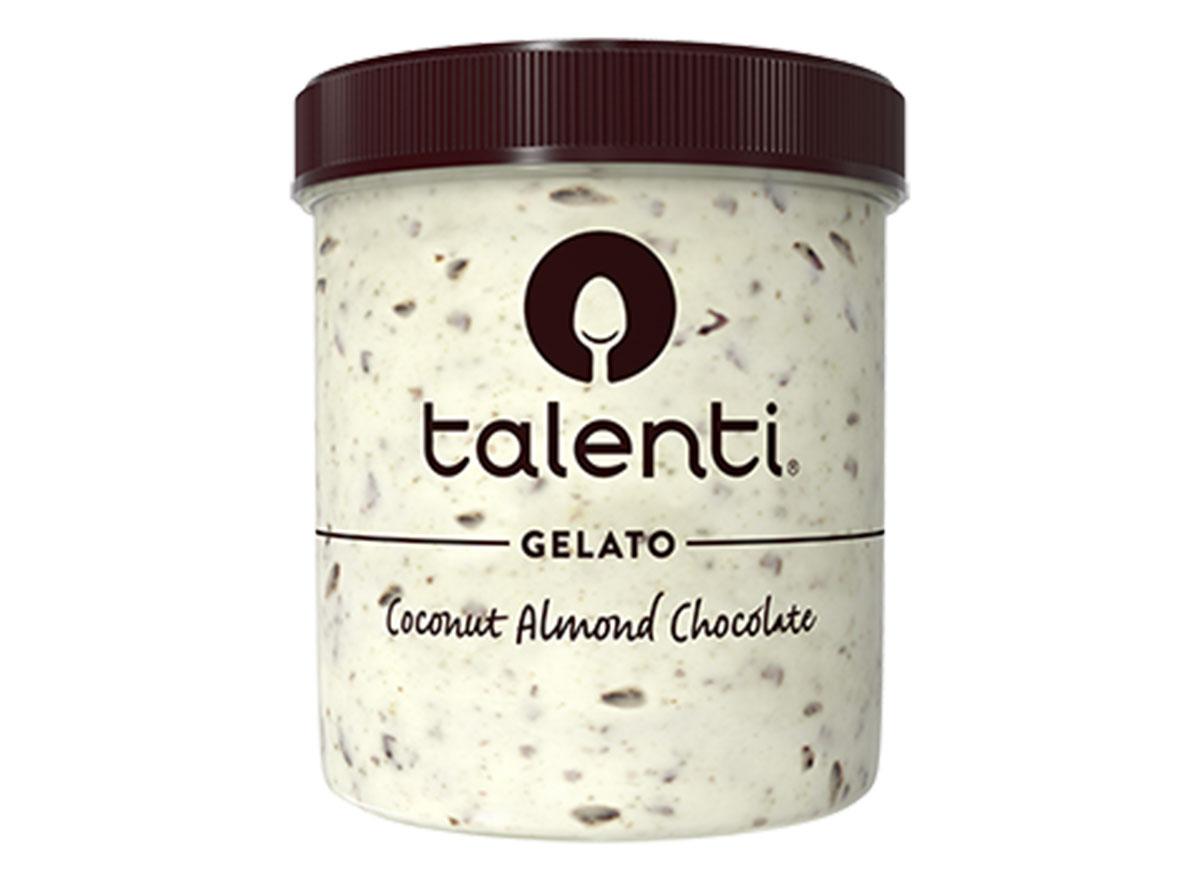 talenti coconut almond chocolate gelato ice cream tub