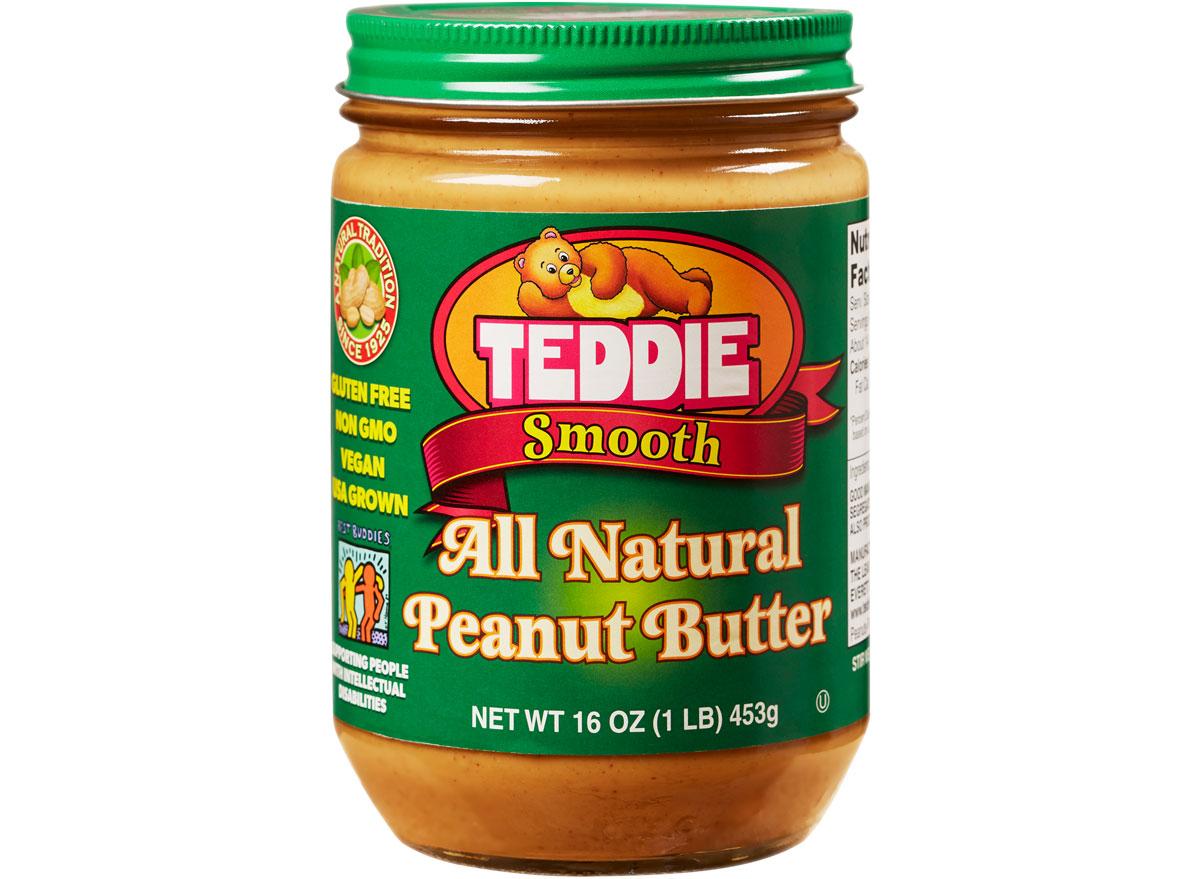 teddie smooth peanut butter