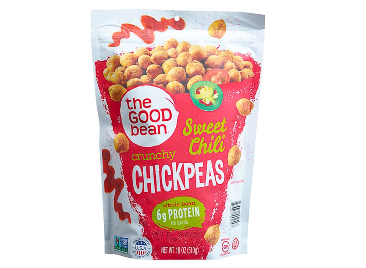 the good bean chili lime chickpeas bag