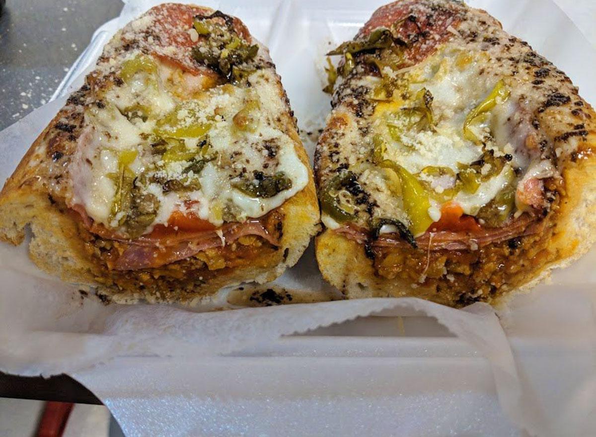 tonys italian delicatessen lucky luciano sandwich house peppers